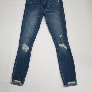Abercrombie & Fitch Harper lowrise ankle jeans